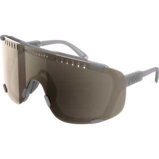 POC Devour Clarity Brown/Silver Mirror moonstone grey