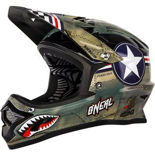 ONeal Backflip Fidlock Helmet RL2 Wingman, metal/white - Fahrradhelm