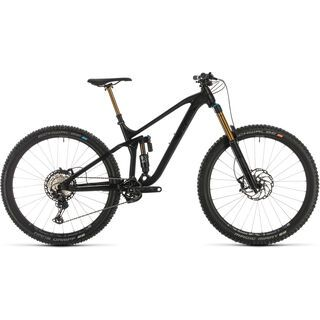 Cube Stereo 170 SL 29 2020, Black anodized - Mountainbike