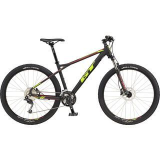 GT Avalanche Comp GTw 2017, black/yellow - Mountainbike