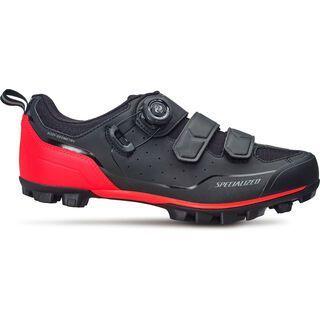 Specialized Comp Mountain Bike, black/rocket red - Radschuhe