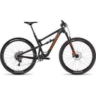 Santa Cruz Hightower CC X01 2019, carbon/orange - Mountainbike