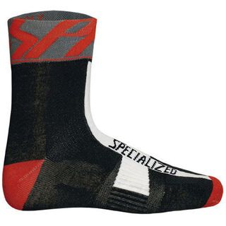 Specialized Pro Racing Sock, Black/Grey/Red - Radsocken