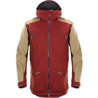 Haglöfs Chute II Jacket Men, dark ruby/oak - Skijacke