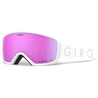 Giro Millie, white core light/Lens: vivid pink - Skibrille