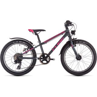 Cube Access 200 Allroad 2020, grey´n´blue´n´pink - Kinderfahrrad