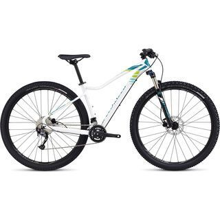 Specialized Jett Comp 29 2016, white/turquoise/green - Mountainbike