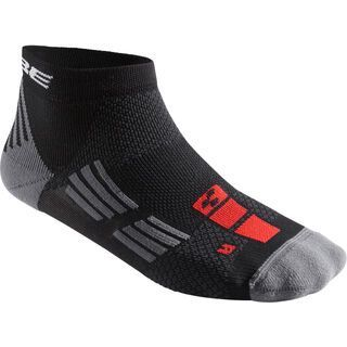 Cube Socke Race Cut Blackline, black´n´anthracite - Radsocken