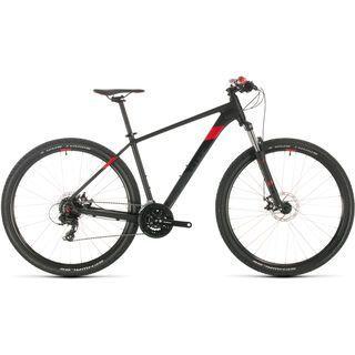 Cube Aim 29 2020, black´n´red - Mountainbike