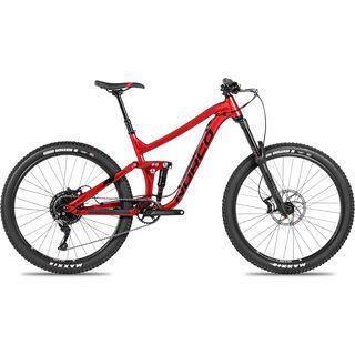Norco Range A 3 27.5 2018, black/red - Mountainbike