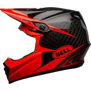 Bell Full-9, red/black - Fahrradhelm