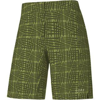Gore Bike Wear Element Lady Print Shorts, ivy green - Radhose