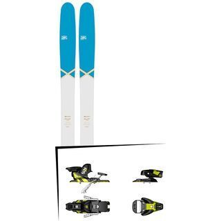 DPS Skis Set: Wailer 112 RP2 Pure3 Special Edition 2016 + Salomon STH2 WTR 13