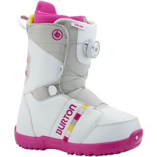 Burton Zipline Boa 2015, White/Gray/Pink - Snowboardschuhe