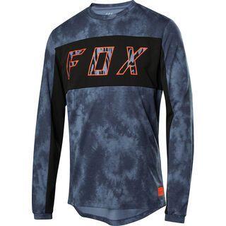 Fox Ranger Drirelease LS Elevated Jersey, blue steel - Radtrikot