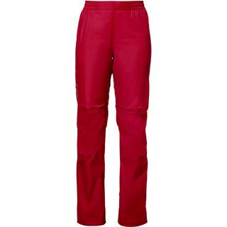 Vaude Womens Drop Pants II, indian red - Radhose