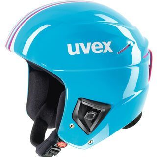 uvex race +, cyan pink - Skihelm