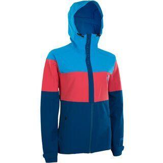 ION Softshell Jacket Shelter Wms, inside blue - Radjacke
