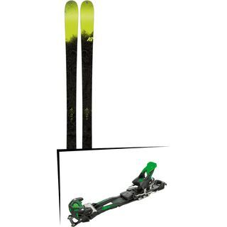Set: K2 SKI Sight 2018 + Tyrolia Adrenalin 16 solid black flash green