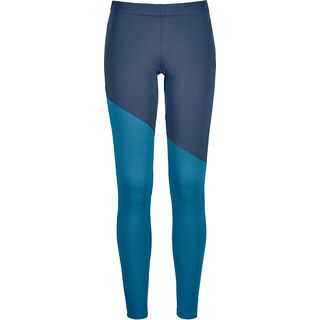 Ortovox Merino Fleece Light Long Pants W, night blue - Unterhose
