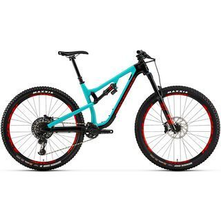 Rocky Mountain Instinct Carbon 90 BC Edition 2019, black/turquoise/red - Mountainbike