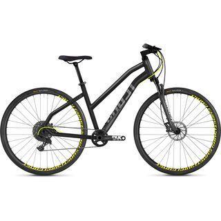 Ghost Square Cross 6.8 W AL 2018, gray/neon yellow - Fitnessbike