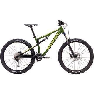 Kona Precept 130 2017, green//tan/silver - Mountainbike