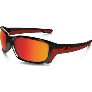 Oakley Straightlink Polarized, polished black/Lens: torch iridum - Sonnenbrille