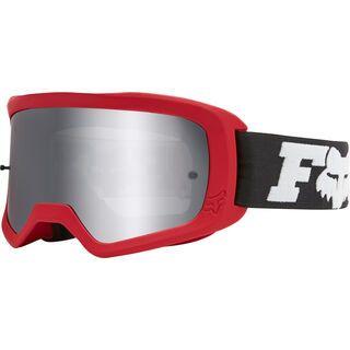 Fox Main Linc Goggle Spark, flame red/Lens: chrome mir - MX Brille