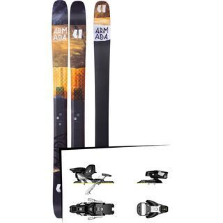 Set: Armada Tracer 118 CHX 2018 + Salomon STH2 WTR 13 black/white