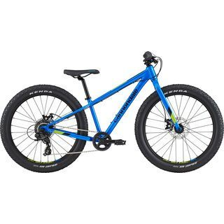 Cannondale Cujo 24 Plus 2020, electric blue - Kinderfahrrad