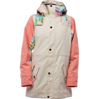 Nikita Chestnut Jacket, tapioca - Snowboardjacke