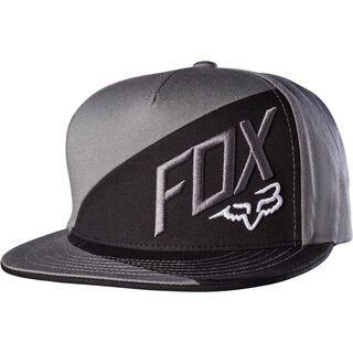 Fox Overlapped Snapback, graphite - Cap