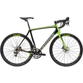 Cannondale Synapse Hi-Mod Team 2017, black/bz green/chrome - Rennrad