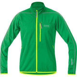 Gore Bike Wear Countdown Windstopper Soft Shell Light Jacke, fresh green/neon yellow