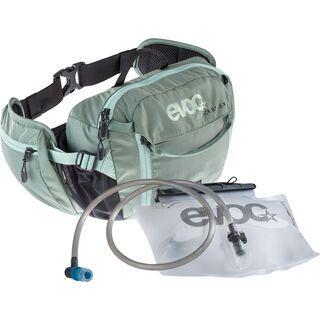 Evoc Hip Pack Race 3l + Hydration Bladder 1,5l, olive petrol - Hüfttasche