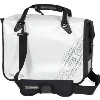 Ortlieb Office-Bag QL3 Black'n White, weiß-schwarz - Fahrradtasche