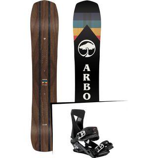 Set: Arbor A-Frame 2019 + Nitro Zero zero fucks given