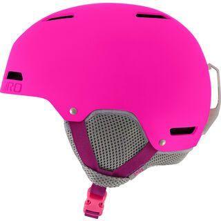 Giro Crüe, matte bright pink - Skihelm