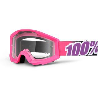 100% Strata Youth, bubble gum/Lens: clear - MX Brille