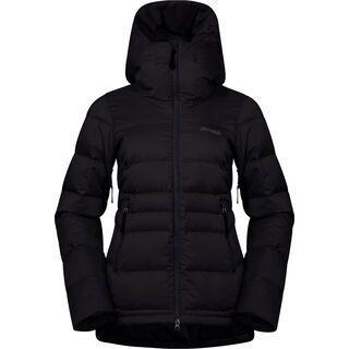 Bergans Stranda Down Hybrid W Jacket, black/solid charcoal - Daunenjacke