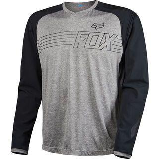 Fox Explore LS Jersey, heather graphite - Radtrikot