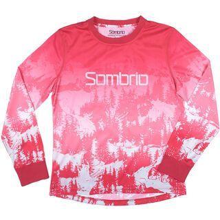 Sombrio Cascadia Jersey, red - Radtrikot