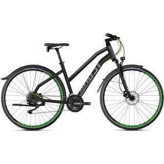 Ghost Square Cross X 5.8 W AL 2018, gray/neon green - Fitnessbike