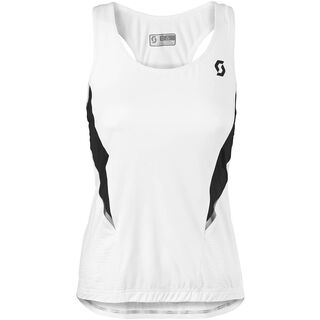 Scott Womens Shadow Tanktop, white/black - Tank