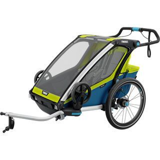 *** 2. Wahl *** Thule Chariot Sport 2, chartreuse - Fahrradanhänger  