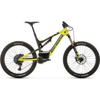 Rocky Mountain Altitude Powerplay Carbon 90 2018, acid/green/black - E-Bike