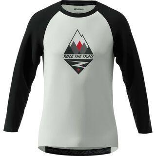 Zimtstern PureFlowz Shirt 3/4, grey/black/red - Radtrikot