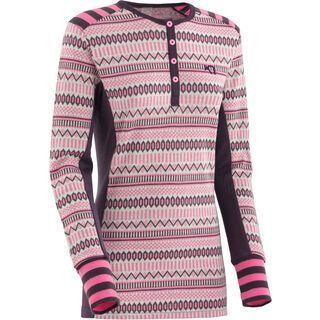 Kari Traa kle LS, mauve - Unterhemd