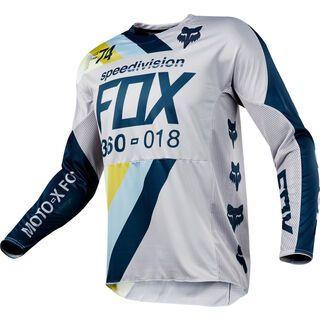 Fox 360 Draftr Jersey, light grey - Radtrikot